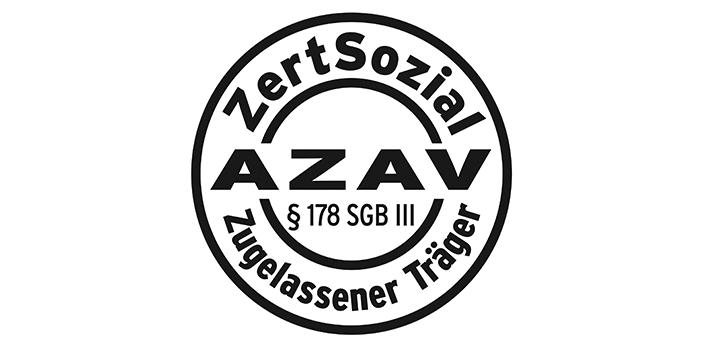 Logo AZAV ZertSozial