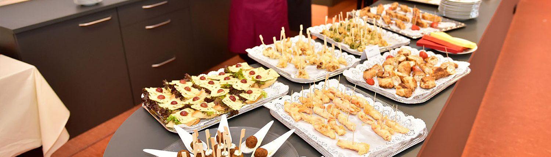 Gastronomie bei Veranstaltung bei juniver